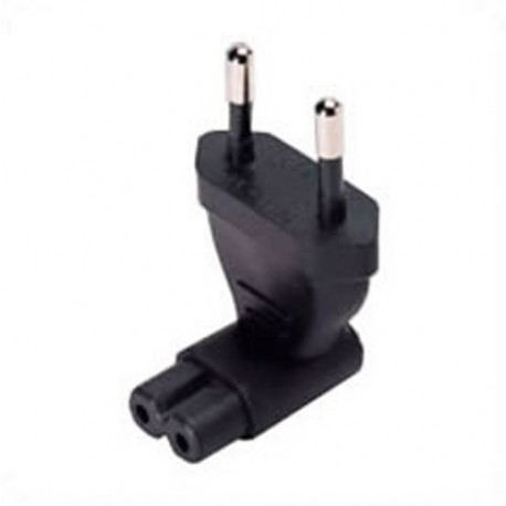 European CEE 7/16 Male Plug to C7 Up/Down Female Connector 2.5