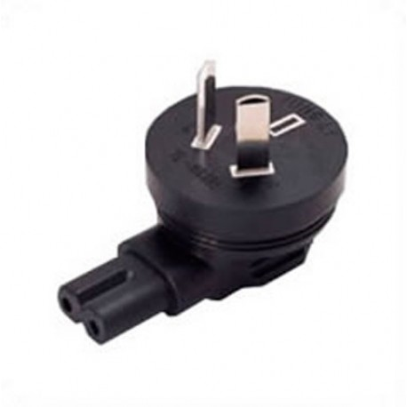 Australian AS 3112 Male Plug to C7 Down Female Connector 2.5