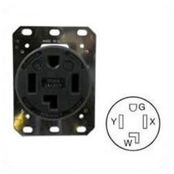 Hubbell HBL9430A NEMA 14-30 Female Receptacle - 30 Amp, 125/250