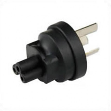 China GB 2099 Male Plug to C5 Female Connector 2.5 Amp 250 Volt