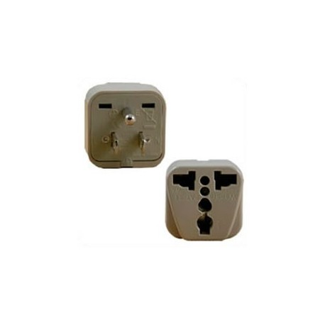 International Adapter NEMA 5-15 Male Plug to Multiple Female 10