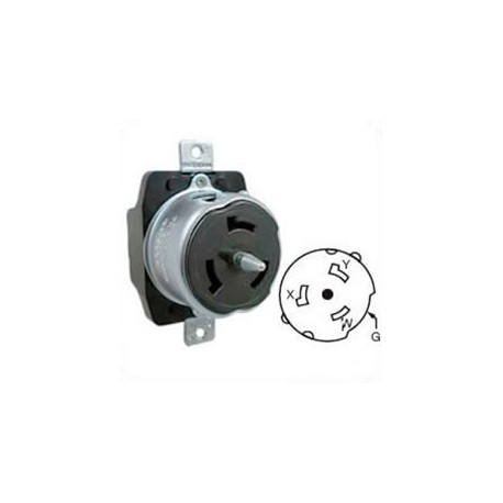 Hubbell CS6369 California Standard Female Receptacle - 50 Amp