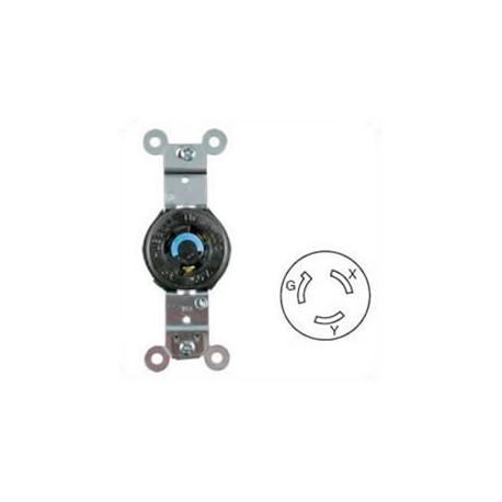 Hubbell HBL4560 NEMA L6-15 Female Receptacle - 15 Amp, 250