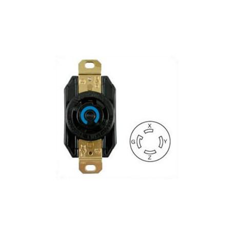 Hubbell HBL2720 NEMA L15-30 Female Receptacle - 30 Amp, 250