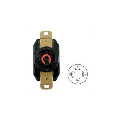 Hubbell HBL2730 NEMA L16-30 Female Receptacle - 30 Amp, 480