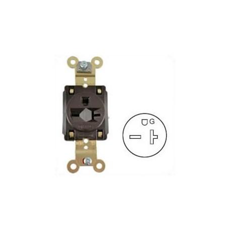 Hubbell HBL5461 NEMA 6-15/20 Industrial Grade Female T-Slot