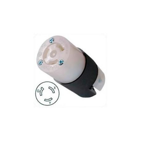 Hubbell HBL4579C NEMA L6-15 Female Connector