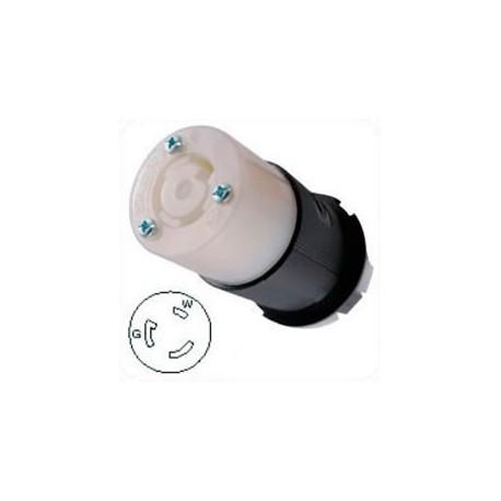 Hubbell HBL2313 NEMA L5-20 Female Connector