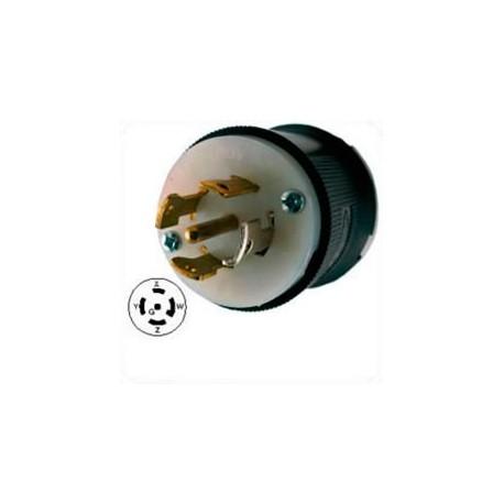 Hubbell HBL2821 NEMA L22-30 Male Plug