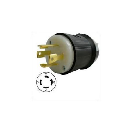 Hubbell HBL2721 NEMA L15-30 Male Plug