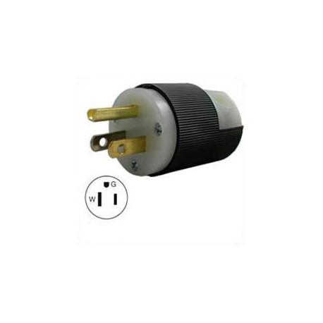 Hubbell HBL5266C NEMA 5-15 Male Plug