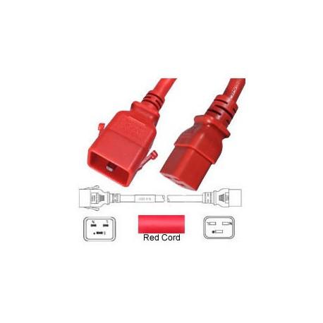 P-Lock C20 Male to C19 Female 2.0 Meter 16 Amp 250 Volt H05VV-F