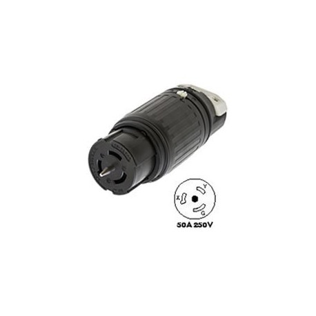 Hubbell CS8264C California Standard Female Connector - 50 Amp