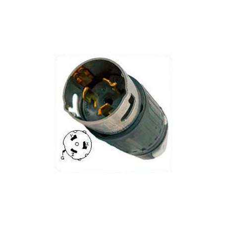 Hubbell CS8165C California Standard Male Plug - 50 Amp, 3-Phase