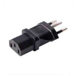 Brazil NBR 14136 Male Plug to C13 Female Connector 10 Amp 250