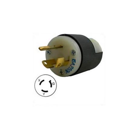 Hubbell HBL4570C NEMA L6-15 Male Plug