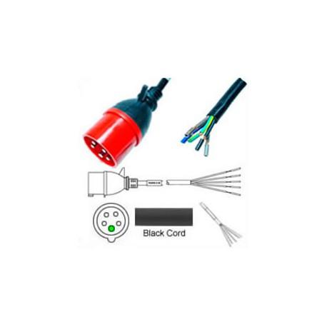 IEC 60309 532P6 Male to ROJ Unterminated Female 3.2 Meters 32