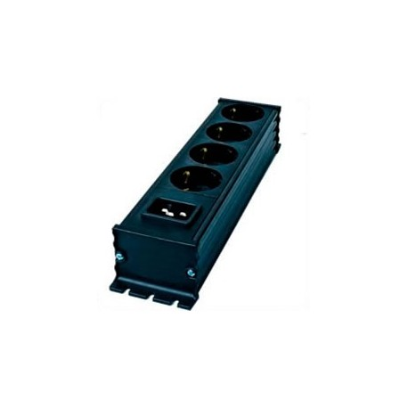 IEC C20 Male Inlet to x4 CEE 7/4 Female Receptacles 250 Volt