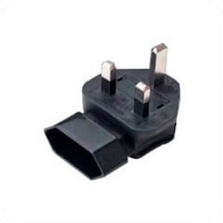 U.K. BS 1363 Male Plug to Europe CEE 7/16 Down Female Connector