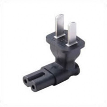 China GB 1002 Male Plug to C7 Up or Down Female Connector 2.5