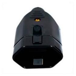 Brazil NBR 6147 20 Amp 250 Volt Black Straight Entry Female