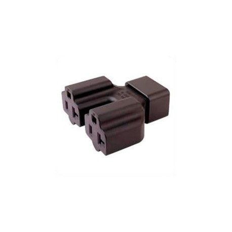 C20 Plug to x2 North America NEMA 5-15/20 Connector Block