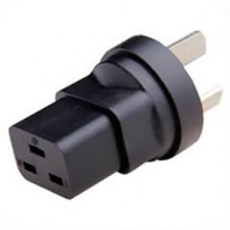 China GB 2099 Male Plug to C19 Female Connector 16 Amp 250 Volt