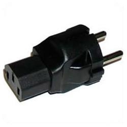 Schuko CEE 7/7 Male Plug to C13 Female Connector 10 Amp 250