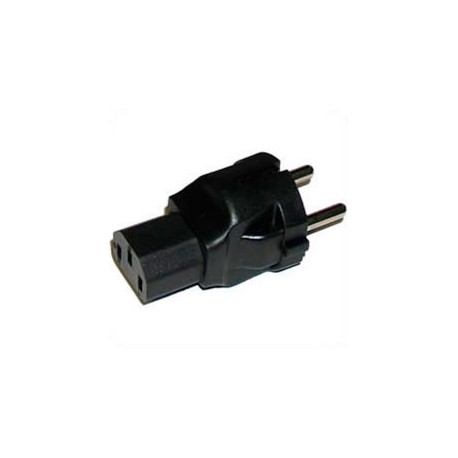 Schuko CEE 7/7 Male Plug to C13 Female Connector 10 Amp 250