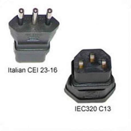 Italy CEI 23-16 Male Plug to C13 Female Connector 10 Amp 250