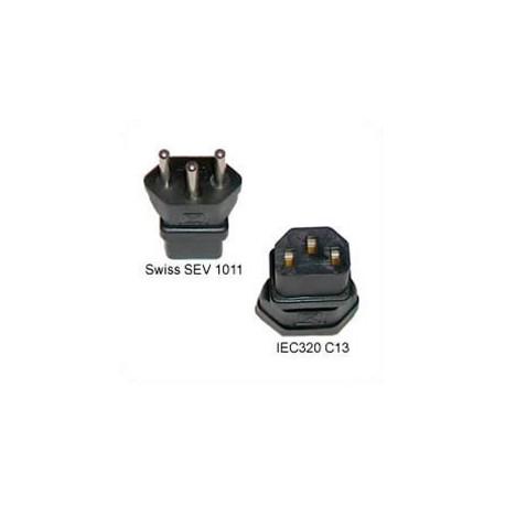 Switzerland SEV 1011 Male Plug to C13 Female Connector 10 Amp