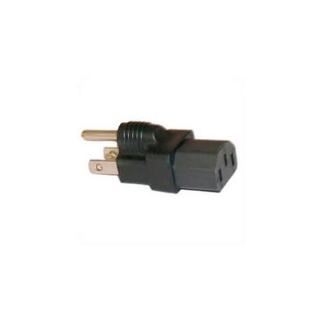 North America NEMA 5-15 Plug to C13 Connector Block Adapter -