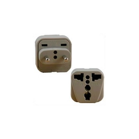 International Adapter Russia Male Plug to Multiple Female