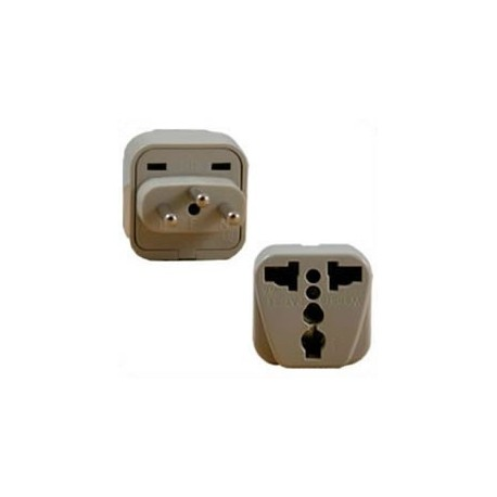 International Adapter Switzerland Male Plug to Multiple Female