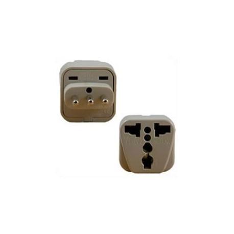 International Adapter Italy CEI 23-16 Male Plug to Multiple