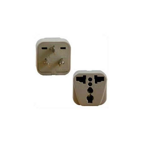 International Adapter Australia Male Plug to Multiple Female