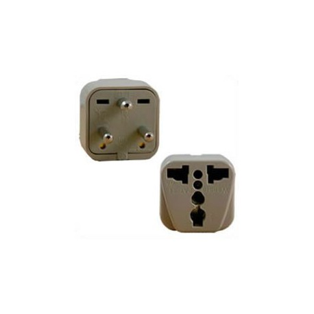 International Adapter Denmark Male Plug to Multiple Female