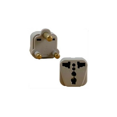 International Adapter India 15 Amp Male Plug to Multiple Female