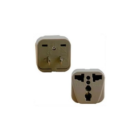 International Adapter NEMA 1-15 Male Plug to Multiple Female 10
