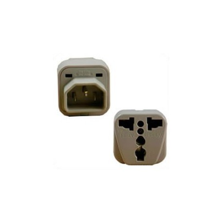 International Adapter C14 Male Plug to Multiple Female