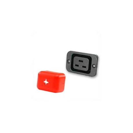 Outlet Cover C19 - Red Shield