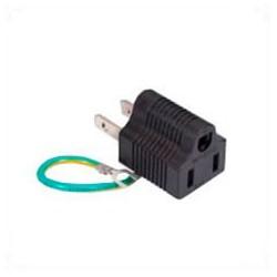 North America NEMA 1-15 Plug to NEMA 5-15 Connector Block