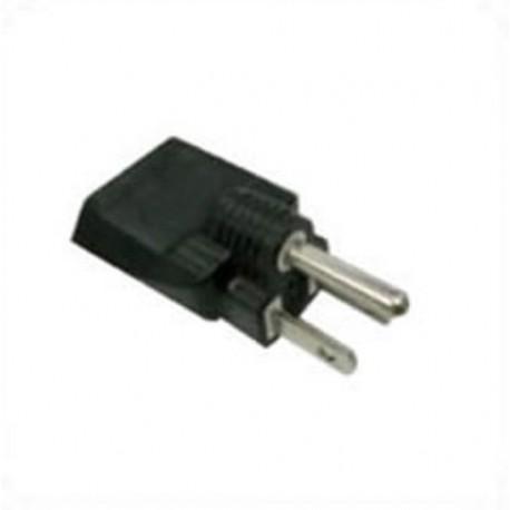 NEMA 5-15 Male Plug to Italy CEI 23-16 Female Connector 10 Amp